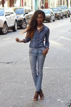 Zara jeans - Zara heels