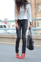 Zara shoes - H&M jeans - liz claiborne bag