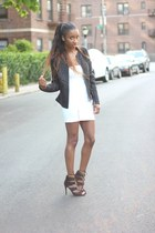 Zara dress - Zara jacket - Zara heels