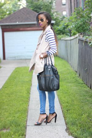 Forever 21 vest - Zara heels