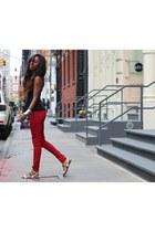 Zara top - Zara sandals