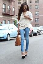 Gentle Fawn shirt - Zara shoes - Zara bag