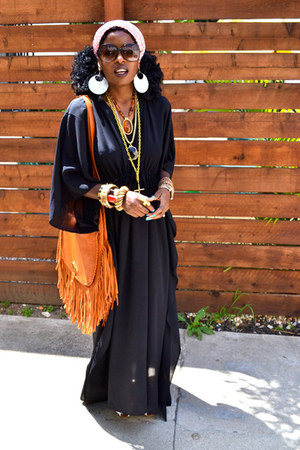 black Rachel Zoe dress