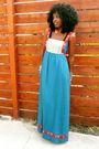 Blue-wewe-clothing-dress