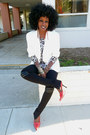 Ruby-red-guiseppe-zanotti-shoes-white-h-m-blazer-ivory-h-m-top-black-willi