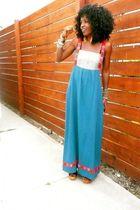 blue WeWe Clothing dress