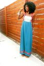 Blue-wewe-clothing-dress