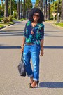 Blue-boyfriend-jeans-navy-zara-blouse