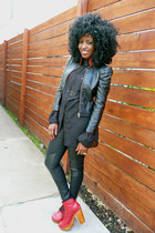 black H&M shirt - black H&M pants