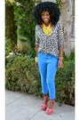 Blue-zara-jeans-black-zara-shirt-red-polka-dot-heels