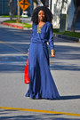 Blue-paker-dress-nude-report-heels