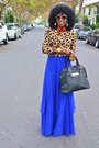 Light-brown-leopard-print-romwe-shirt-red-romwe-shirt-blue-asos-skirt