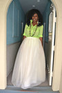 Chartreuse-ralph-lauren-shirt-white-jcrew-tulle-skirt