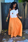 Beige-free-people-grecian-blouse-carrot-orange-zara-maxi-skirt