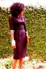 Black-vintage-dress-brown-leopard-pumps-shoes