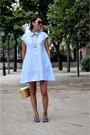 Light-blue-shirt-dress-front-row-shop-dress