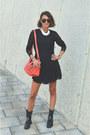 Black-biker-zara-boots-black-lace-h-m-dress