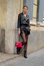 Black-faux-leather-elogy-romper