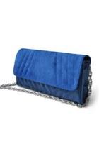 evening bag Reveal purse - blue Reveal bag - vegan leather Reveal bag - purple R