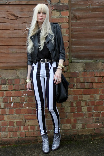 Topshop boots - asos jacket - Motel pants
