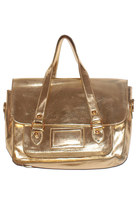 Satchel Gold Bag