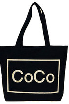 Coco Canvas Bag Black