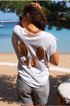 Open Back T-Shirt
