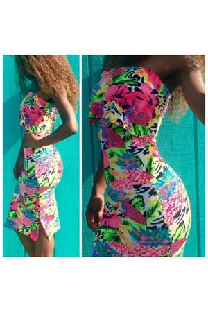 Style By Sheena dress - shoe republic LA heels