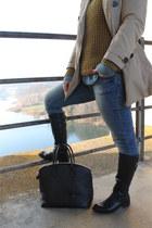 denim shirt Ralph Lauren shirt - leather San Marina boots - Zara jeans