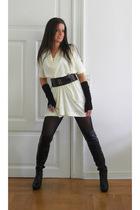 COS dress - DIY belt - Malene Birger gloves - from Malorca boots - Indiska acces