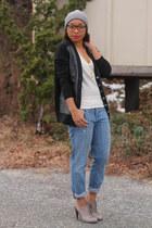 Forever 21 hat - JCrew jeans - JCrew swimwear - Aldo heels - JCrew flats