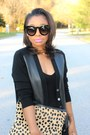 Bcbg-max-azria-dress-jcrew-sweater-love-cortnie-bag-80s-purple-sunglasses