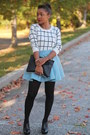 Forever-21-sweater-hue-tights-love-cortnie-bag-asos-skirt