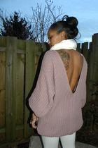 Topshop sweater - Forever 21 leggings - Target scarf - Steve Madden boots - Urba