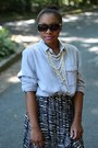 H-m-dress-anthropologie-sunglasses-old-navy-top-jcrew-necklace
