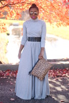 asos skirt - Love Cortnie bag - Nordstrom sunglasses - bcbg max azria belt