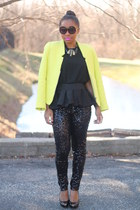 Atlantis Dry Goods necklace - Zara jacket - Coco & Breezy sunglasses - H&M pants