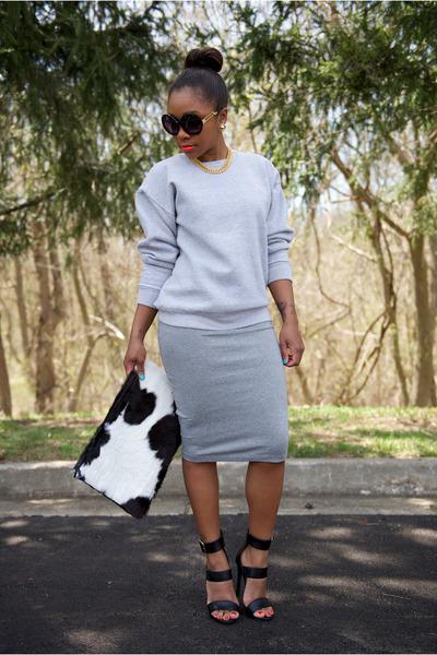thrifted sweatshirt - Love Cortnie bag - Coco & Breezy sunglasses