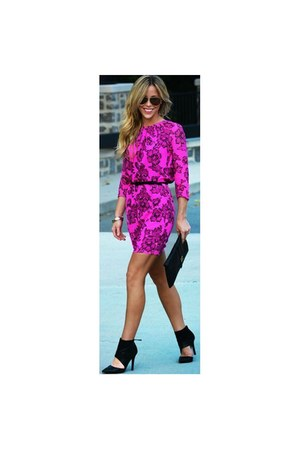 magenta  unknown brand dress