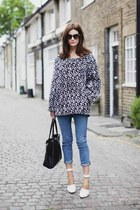 black Accessorize jumper