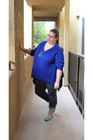 blue NorthStyle sweater - torrid jeans