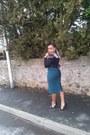 Forever-21-blouse-zara-heels