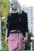 red Three Floor skirt - black Somedays Lovin jacket