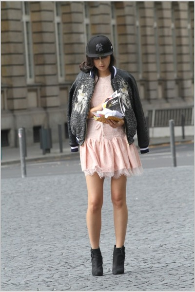 black Three Floor jacket - light pink Three Floor dress