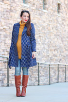 Stylish Petite boots - Stylish Petite coat - Stylish Petite jeans