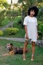 Ivory-boohoo-dress