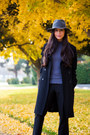 Black-guess-coat-charcoal-gray-wool-sole-society-hat