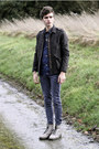 Dr-martens-boots-jbrand-jeans-dries-van-noten-shirt-jack-jones-cardigan