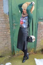 romwe shirt - H&M skirt