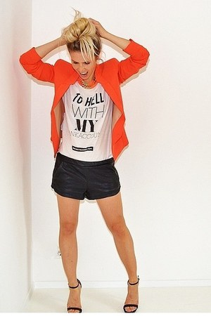 Mango blazer - Welikefashionnl shirt - Zara shorts